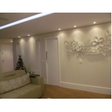 empresa de painel decorativo parede sala Real Parque