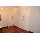 orçamento de porta pivotante branca madeira Vila Buarque