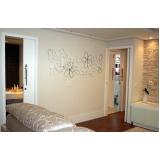painel decorativo de parede em madeira Panamby