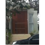 porta de madeira de correr Moema