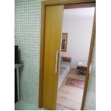porta de correr para sala madeira