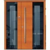 porta de correr de madeira completa