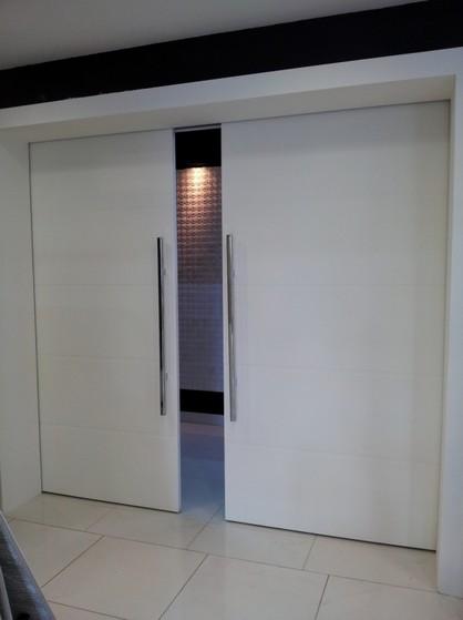 Porta de Correr de Madeira Completa Vila Prado - Porta de Madeira de Correr para Banheiro