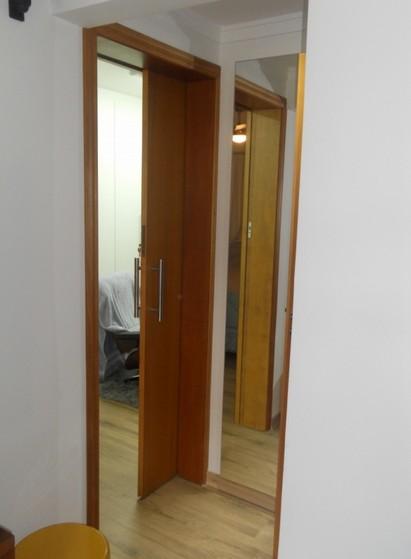 Porta de Correr Madeira Quarto Casa Verde - Porta de Correr de Madeira para Quarto