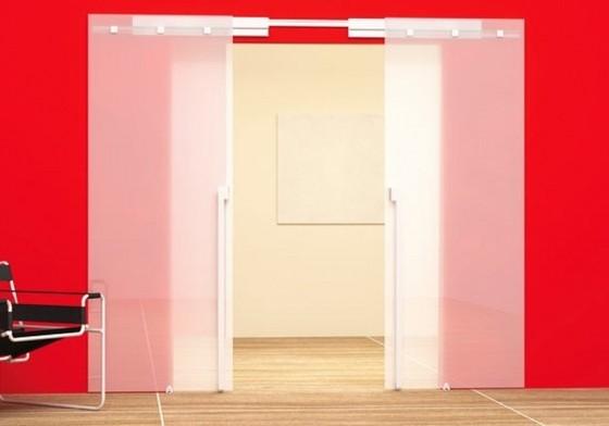 Porta de Correr para Cozinha de Vidro Casa Verde - Porta de Correr para a Cozinha