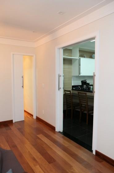 Porta de Correr para Cozinha Indianópolis - Porta de Correr Cozinha Americana