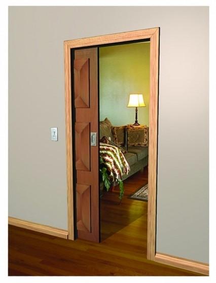 Porta de Madeira de Correr Sala Bela Vista - Porta de Madeira para Sala de Correr
