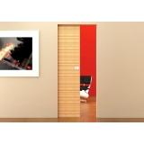 loja de porta de madeira para quarto de correr Campo Belo