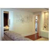 painel decorativo parede de sala Jardins