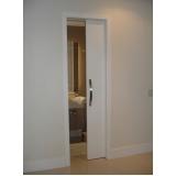 porta de correr madeira para sala Lapa