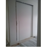 porta de madeira de correr para quarto Vila Progredior
