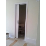 venda de porta de correr madeira para quarto Glicério